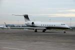 スポット110さんが、羽田空港で撮影した3M G-V Gulfstream Vの航空フォト(写真)