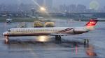 にっしーさんが、台北松山空港で撮影した遠東航空 MD-82 (DC-9-82)の航空フォト(写真)