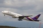 funi9280さんが、新千歳空港で撮影したタイ国際航空 777-2D7/ERの航空フォト(写真)