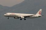 uhfxさんが、香港国際空港で撮影したキャセイドラゴン A321-231の航空フォト(飛行機 写真・画像)