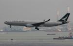 uhfxさんが、香港国際空港で撮影したキャセイパシフィック航空 A330-342Xの航空フォト(写真)