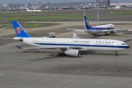 キイロイトリさんが、羽田空港で撮影した中国南方航空 A330-343Xの航空フォト(写真)
