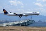 T.Sazenさんが、関西国際空港で撮影したルフトハンザドイツ航空 A340-642Xの航空フォト(写真)