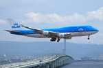 T.Sazenさんが、関西国際空港で撮影したKLMオランダ航空 747-406の航空フォト(飛行機 写真・画像)