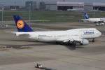 キイロイトリさんが、羽田空港で撮影したルフトハンザドイツ航空 747-830の航空フォト(写真)