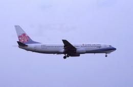 kumagorouさんが、仙台空港で撮影したチャイナエアライン 737-809の航空フォト(飛行機 写真・画像)