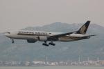 uhfxさんが、香港国際空港で撮影したシンガポール航空 777-212/ERの航空フォト(飛行機 写真・画像)