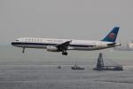 uhfxさんが、香港国際空港で撮影した中国南方航空 A321-231の航空フォト(飛行機 写真・画像)