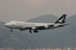 uhfxさんが、香港国際空港で撮影したキャセイパシフィック航空 747-467F/ER/SCDの航空フォト(飛行機 写真・画像)