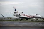 スポット110さんが、羽田空港で撮影した金鹿航空 Falcon 7Xの航空フォト(写真)