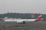 ATOMさんが、成田国際空港で撮影したイベリア航空 A340-642Xの航空フォト(飛行機 写真・画像)