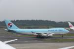 ATOMさんが、成田国際空港で撮影した大韓航空 747-4B5F/ER/SCDの航空フォト(写真)