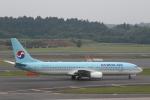 ATOMさんが、成田国際空港で撮影した大韓航空 737-9B5の航空フォト(写真)