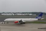 ATOMさんが、成田国際空港で撮影したスカンジナビア航空 A340-313Xの航空フォト(写真)