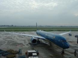 toyokoさんが、ノイバイ国際空港で撮影したベトナム航空 A350-941の航空フォト(飛行機 写真・画像)