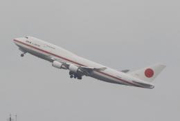 キイロイトリさんが、羽田空港で撮影した航空自衛隊 747-47Cの航空フォト(写真)
