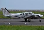 れんしさんが、山口宇部空港で撮影した本田航空 Baron G58の航空フォト(写真)