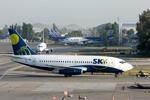 kinsanさんが、アルトゥーロ・メリノ・ベニテス国際空港で撮影したスカイ・エアライン 737-2Q3/Advの航空フォト(写真)