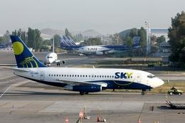 kinsanさんが、アルトゥーロ・メリノ・ベニテス国際空港で撮影したスカイ・エアライン 737-2Q3/Advの航空フォト(飛行機 写真・画像)