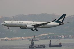 uhfxさんが、香港国際空港で撮影したキャセイパシフィック航空 A330-343Xの航空フォト(写真)