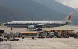 uhfxさんが、香港国際空港で撮影した中国国際航空 A330-343Xの航空フォト(写真)