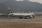 uhfxさんが、香港国際空港で撮影したキャセイパシフィック航空 777-367/ERの航空フォト(飛行機 写真・画像)
