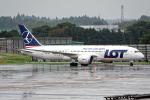Cozy Gotoさんが、成田国際空港で撮影したLOTポーランド航空 787-8 Dreamlinerの航空フォト(写真)