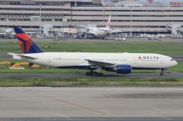 キイロイトリさんが、羽田空港で撮影したデルタ航空 777-232/ERの航空フォト(写真)