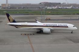 キイロイトリさんが、羽田空港で撮影したシンガポール航空 A350-941XWBの航空フォト(写真)