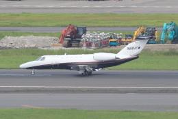 キイロイトリさんが、羽田空港で撮影したユタ銀行 525C Citation CJ4の航空フォト(写真)
