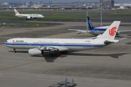 キイロイトリさんが、羽田空港で撮影した中国国際航空 A330-343Eの航空フォト(写真)