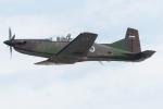 Tomo-Papaさんが、フェアフォード空軍基地で撮影したスロベニア企業所有 PC-9Mの航空フォト(写真)