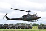 hirohiro77さんが、名寄駐屯地で撮影した陸上自衛隊 UH-1Jの航空フォト(写真)