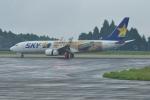 M.Ochiaiさんが、鹿児島空港で撮影したスカイマーク 737-86Nの航空フォト(写真)