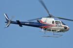 IL-18さんが、東京ヘリポートで撮影したユーロコプタージャパン AS350B3 Ecureuilの航空フォト(写真)