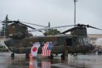 hirokongさんが、横田基地で撮影した陸上自衛隊 CH-47Jの航空フォト(写真)