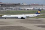 OS52さんが、羽田空港で撮影したルフトハンザドイツ航空 A340-642の航空フォト(写真)