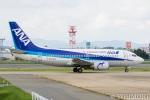 遠森一郎さんが、福岡空港で撮影したANAウイングス 737-5L9の航空フォト(写真)