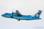 遠森一郎さんが、福岡空港で撮影した天草エアライン ATR-42-600の航空フォト(写真)