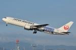 ミオミオさんが、福岡空港で撮影した日本航空 767-346/ERの航空フォト(写真)