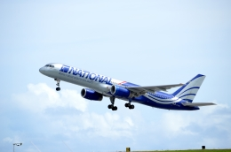 kohei787さんが、アントニオ・B・ウォン・パット国際空港で撮影したナショナル・エアラインズ 757-28Aの航空フォト(飛行機 写真・画像)