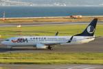 SFJ_capさんが、関西国際空港で撮影した山東航空 737-85Nの航空フォト(写真)