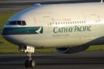 SFJ_capさんが、関西国際空港で撮影したキャセイパシフィック航空 777-367/ERの航空フォト(写真)