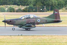 Tomo-Papaさんが、フェアフォード空軍基地で撮影したスロベニア空軍 - Slovenian Air Force - PC-9Mの航空フォト(飛行機 写真・画像)