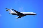 hidetsuguさんが、新千歳空港で撮影したレッドラインエア BD-700-1A10 Global Expressの航空フォト(写真)