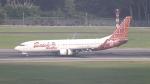 誘喜さんが、シンガポール・チャンギ国際空港で撮影したマリンド・エア 737-8GPの航空フォト(写真)
