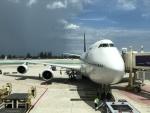 こじゆきさんが、プーケット国際空港で撮影したタイ国際航空 747-4D7の航空フォト(写真)