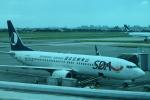 Kanatoさんが、台湾桃園国際空港で撮影した山東航空 737-89Lの航空フォト(写真)