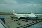 Kanatoさんが、台湾桃園国際空港で撮影したチャイナエアライン 747-409の航空フォト(写真)