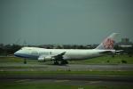 Kanatoさんが、台湾桃園国際空港で撮影したチャイナエアライン 747-409F/SCDの航空フォト(写真)